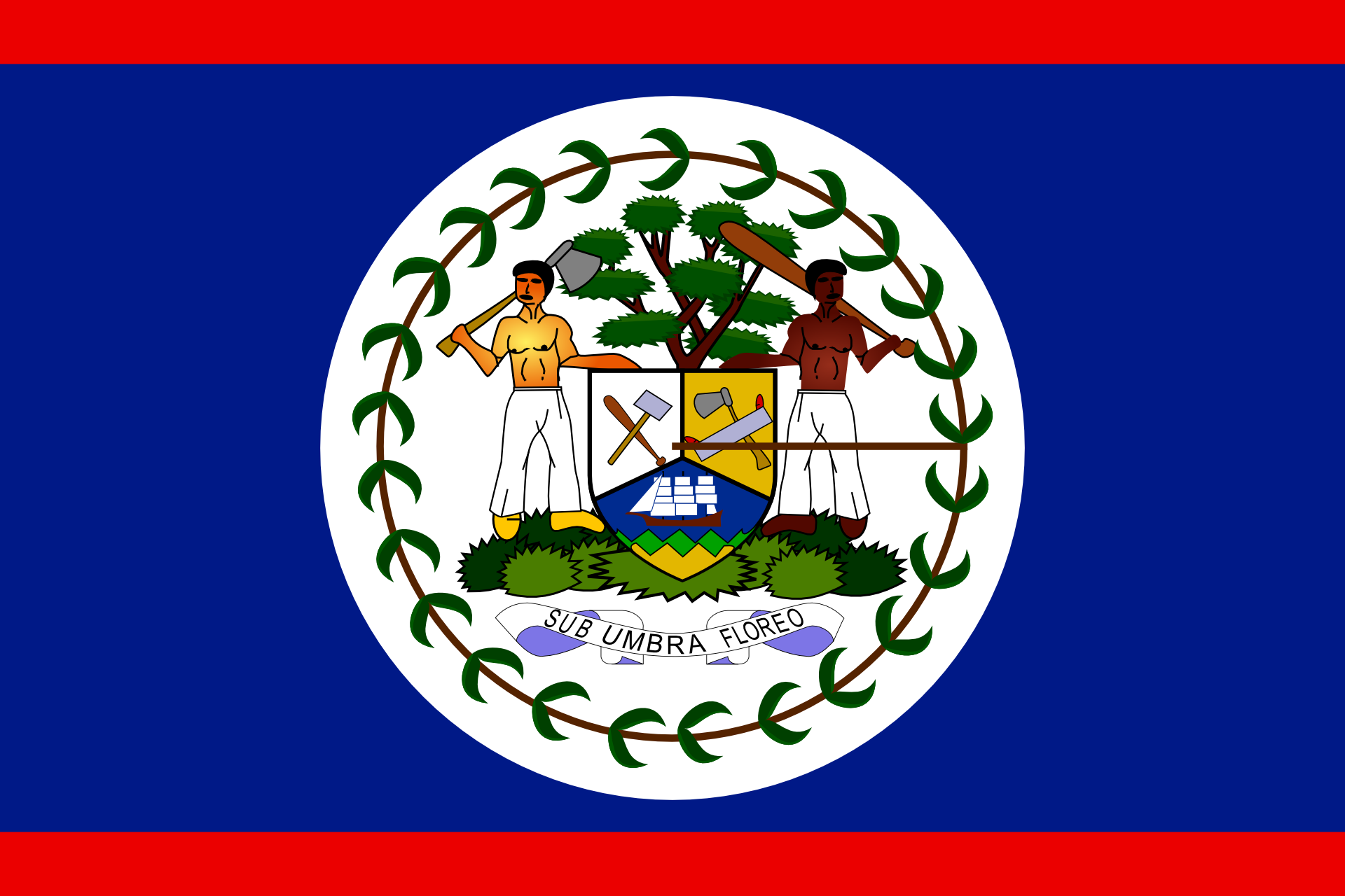 Otubio.com - Belize flag