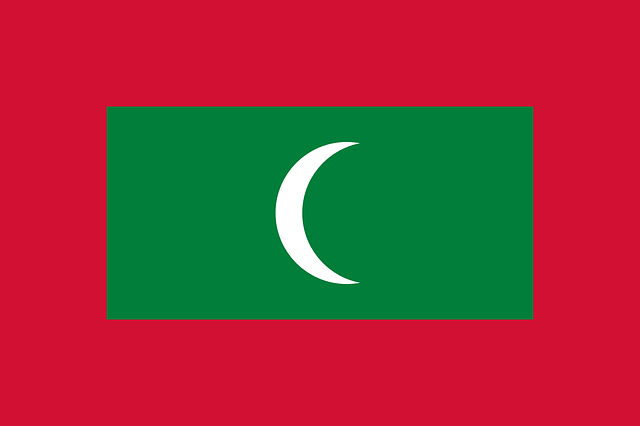 Otubio.com - Maldives flag